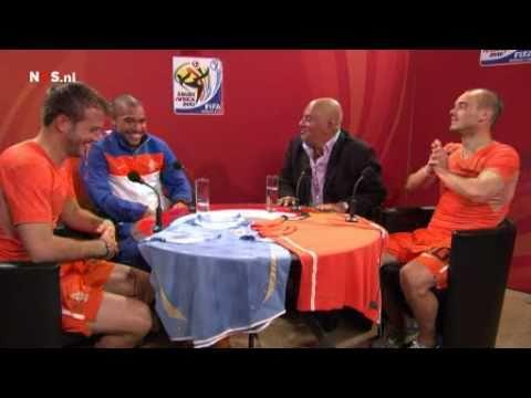 Nigel de Jong,Rafael Ferdinand Van Der Vaart,Wesley Sneijder interview