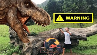 Ranch Tour in JURASSIC WORLD! *INSANE*
