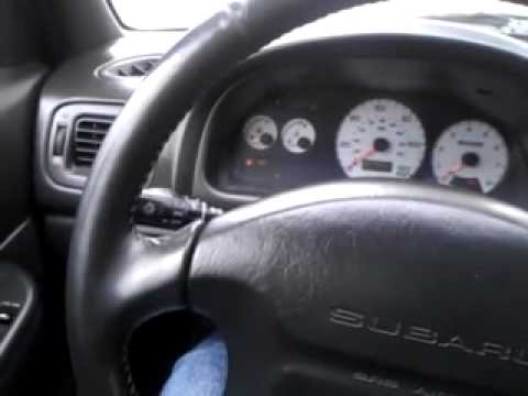 2000 Subaru 2.5rs JDM EJ20G swap startup issues