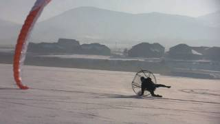 Paramotor Ooops!! Powered Paragliding WPPGA World Champion Smacks Flat Top Into The Ground!!!!