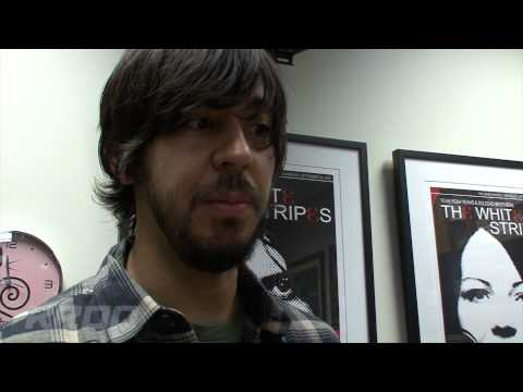 Mike Shinoda And Brad Delson from Linkin Park stop by KROQ to drop off
