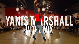 """YANIS MARSHALL HEELS CHOREOGRAPHY """"IN THE MIX"""" MIX MASTERS. LOS ANGELES MILLENNIUM DANCE COMPLEX"""