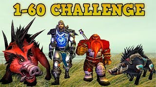 Can you level 1-60 Killing Only Boars?