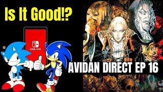 Nintendo Switch Online Service Impressions   CastleVania Remakes? - Avidan Direct Chillcast EP 16