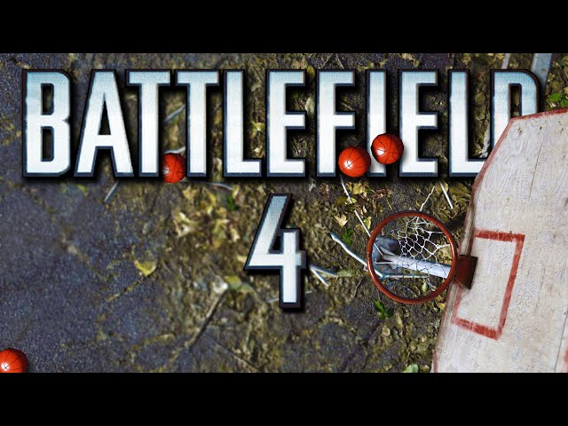 Battlefield 4 Funny Moments - Basketball Mini Game, Soldier vs. Tank, Jet Swap! (Funny Moments)