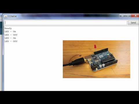 Arduino Basics: Simple Arduino Serial Communication