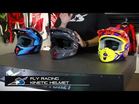 Fly Racing Kinetic Helmet from Motorcycle-Superstore.com