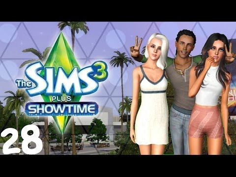 Let's Play: The Sims 3 Showtime - (Part 28) - Wedding