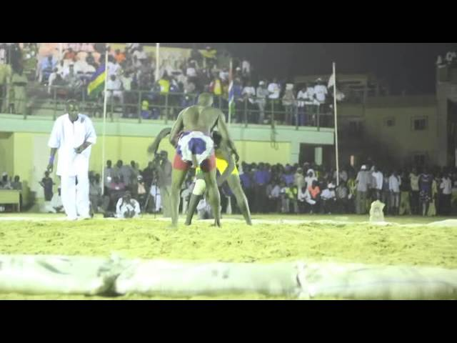 FILA's African Traditional Wrestling