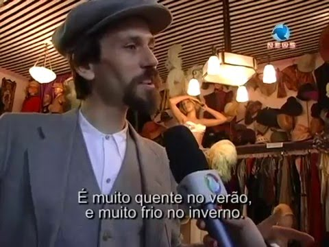 Mercado de Pulgas Paris no programa Catarina