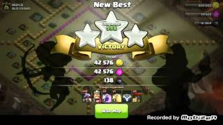 Clash of Clans - Clan Wars Battle Day #1