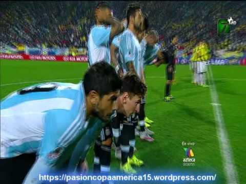 (Relator Enojado) Argentina 0 Colombia 0 (5-4) (Relato Federico Langone)  Copa America 2015