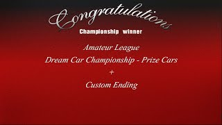 Gran Turismo 3 - Amateur League - Dream Car Championship Prize Cars + Custom Ending