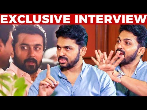 Criticism Against Nadigar Sangam, Suriya's Reaction - Karthi's Straight Answers | Kadaikutty Singam