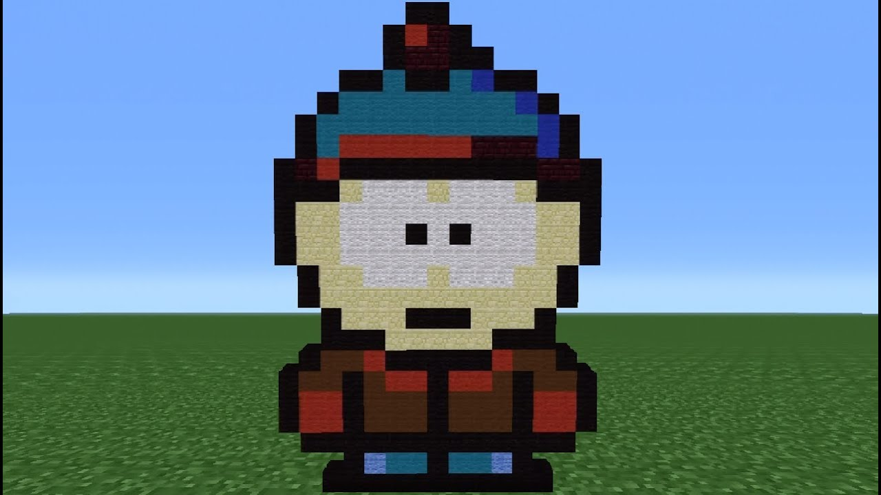 Minecraft Tutorial How To Make Stan South Park YouTube