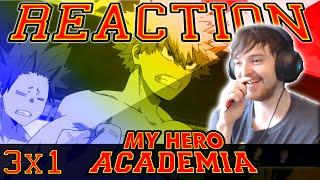 "My Hero Academia: Season 3 Episode 1 REACTION ""OBLIGATORY POOL"""