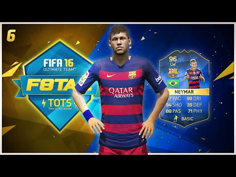 F8TAL TOTS ''Neymar'' Episode #6 | FIFA 16