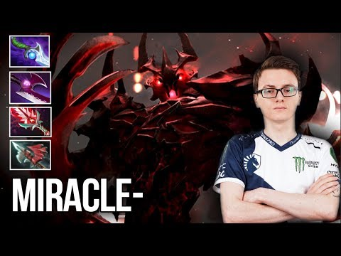Miracle- Shadow Fiend WTF is this Game 9k MMR Gameplay - Dota 2