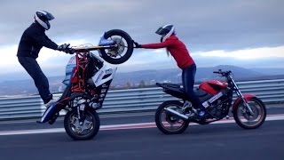 Amazing Motorcycle Stunts