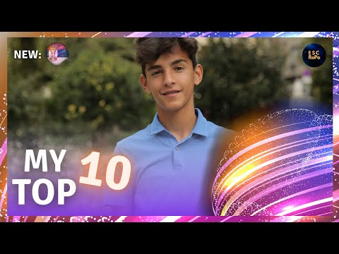 Junior Eurovision 2020 | My Top 10 - NEW: