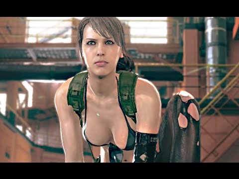 Metal Gear Solid 5 The Phantom Pain Gameplay PS4 - SNIPER QUIET