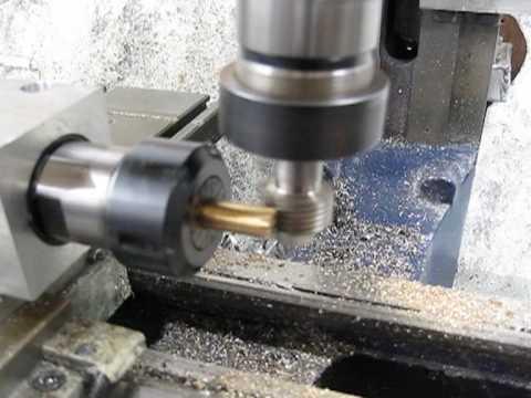 Hobbing Gear Cutting On A Mini Mill With Emc2 Youtube