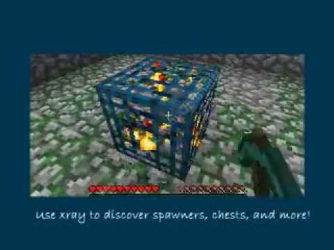 Minecraft XRay Mod Download for Version 1.7.4 - February 2014