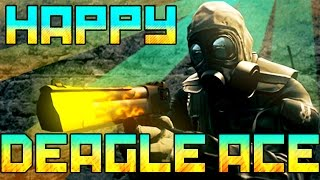CS:GO - Happy SICKEST DEAGLE ACE!!