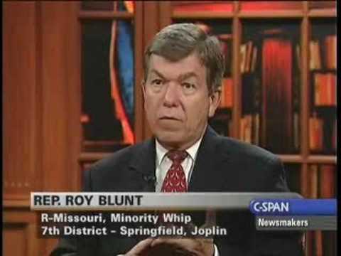 Roy Blunt: Charlie Rangel Equal To All GOP Corruption