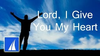 Lord I Give You My Heart (with lyrics) - Acoustified Worship