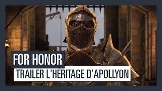 For Honor - Trailer l'héritage d'Apollyon [OFFICIEL] VOSTFR HD