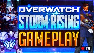 🔴NEW HERO TEASED LIVE! Overwatch Storm Rising Rank #1 Peak -- PMA Streamer Playing Good Game