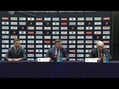 Сочи – Ак Барс. Пресс-конференция тренеров