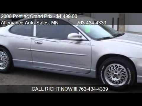 2000 Pontiac Grand Prix GT - for sale in Ham Lake, MN 55304