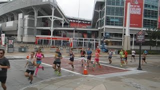Half-Marathon at Rock & Roll Hall of Fame in CLE in 2016