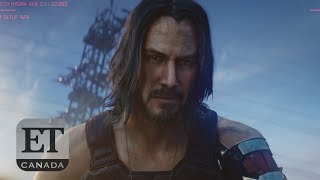 Keanu Reeves Stars In 'Cyberpunk 2077' Trailer, Rallies Crowd At E3