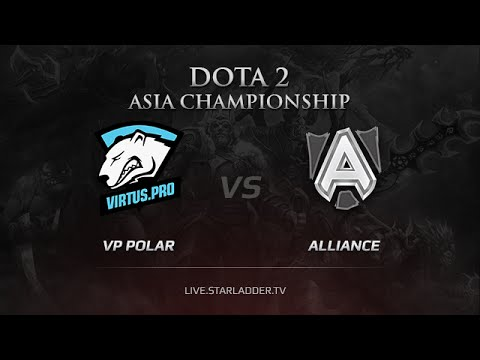 VP Polar vs The Alliance, DAC 2015 EU Qualifiers, LB Round 2 Game 2