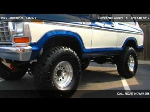 1979 Ford Bronco - for sale in Mcallen, TX 78501 - YouTube