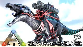 ARK: SURVIVAL EVOLVED - ULTIMATE TEK SPINO SPINEBREAKER E50 !!! ( PUGNACIA PARADOS )