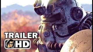 FALLOUT 76 Official Extended E3 Trailer (2019) Bethesda Sci-Fi Game HD