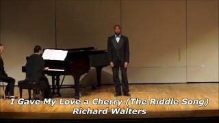 Antoine Bray - I Gave My Love a Cherry (Richard Walters)