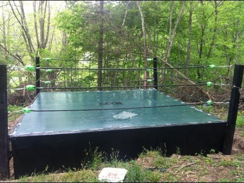 How To Make A Backyard Wrestling Ring Part 2 YouTube