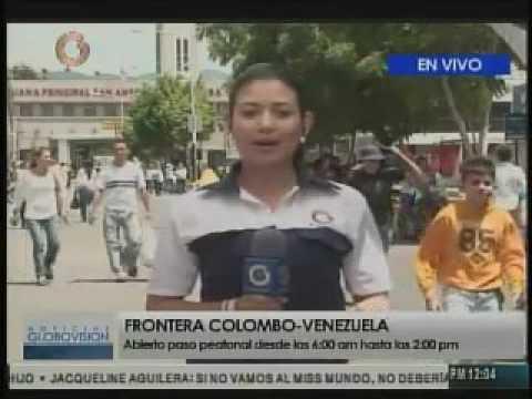 Venezolanos comprando en Cúcuta