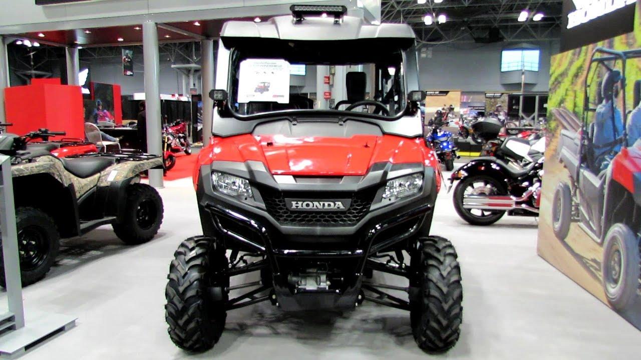 2014 Honda Pioneer 700 4 All Terrain Vehicle Walkaround
