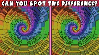 IT'S IMPOSSIBLE TO SPOT THE DIFFERENCE HERE!! | Minecraft