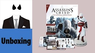 Assassin's Creed The Official Collection - Issue 1 Altaïr Ibn-La'Ahad  - Unboxing & Review