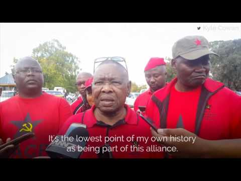'This is the lowest point of my history with the alliance' – Blade Nzimande