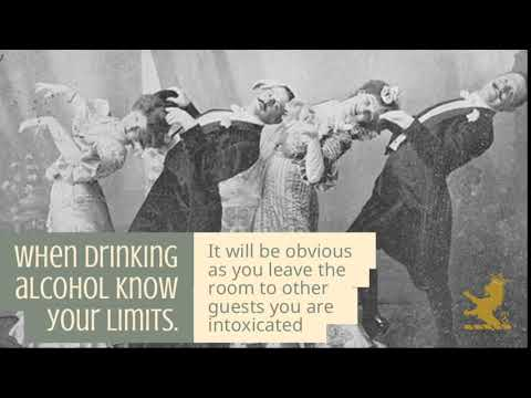 When drinking alcohol know your limits.