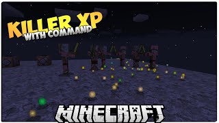 Killer XP | Monster Appear On Getting XP | Minecraft 1.9