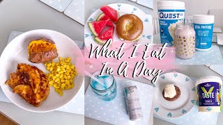 What I Eat In A Day | Healthy + Balanced | TheLondonGirl